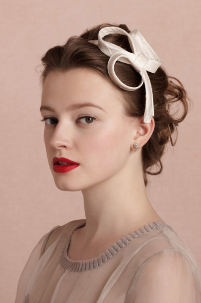Nicole & Co. blush Lemniscate Headband | BHLDN