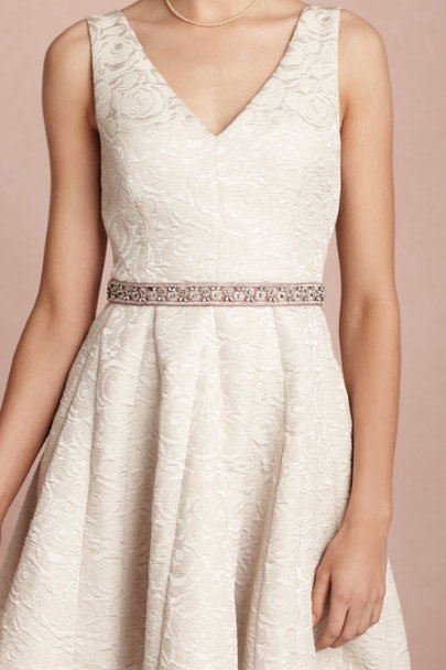 vintage rose Galaxie Sash | BHLDN