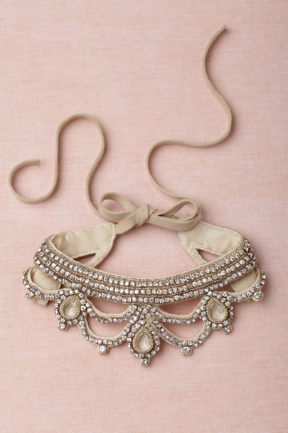neutral Queen Consort Collar | BHLDN