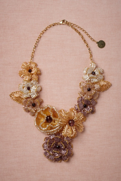 purple motif Sugared Melon Necklace | BHLDN