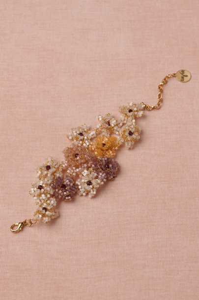 purple motif Sugared Melon Bracelet | BHLDN