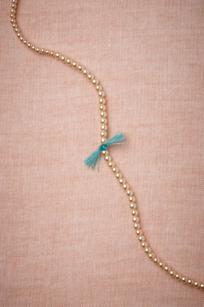 turquoise Turquoise Wisp Necklace | BHLDN