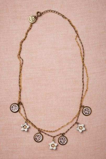 Eric et Lydie bronze Hold Dear Necklace | BHLDN