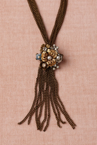Eric et Lydie bronze Sunny Skies Necklace | BHLDN