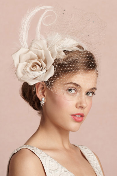 beige Caprice Headband | BHLDN