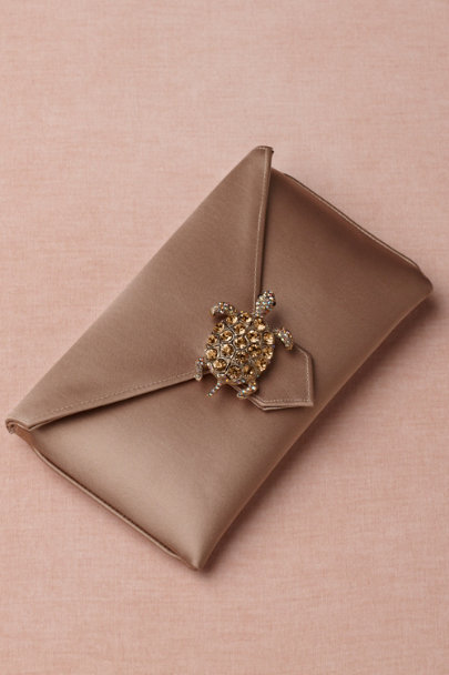 ivory Terrapin Clutch | BHLDN