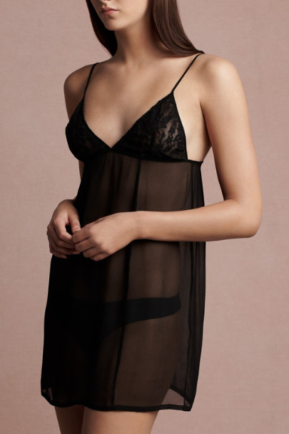 black Licorice Chemise | BHLDN