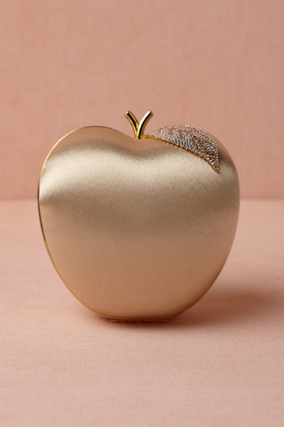 gold Golden Delicious Clutch | BHLDN