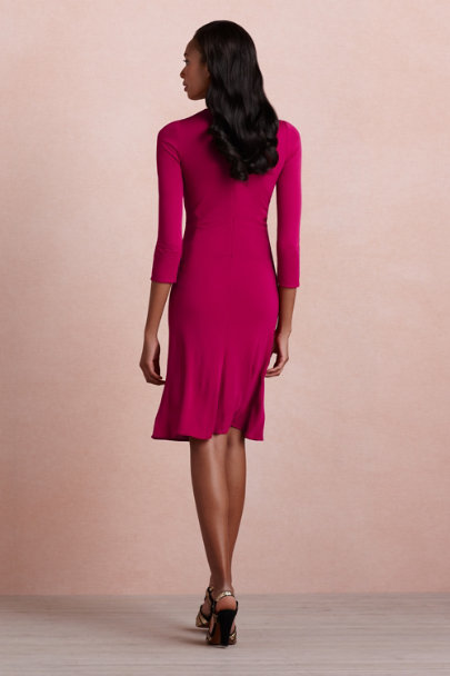 Issa bordeaux Emanation Dress | BHLDN
