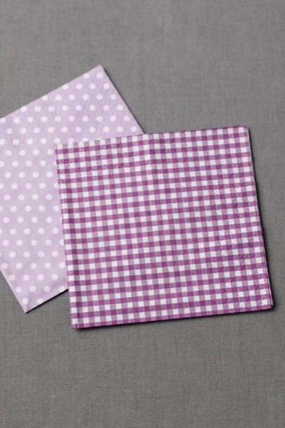 lilac Polka-Dot Cocktail Napkins (20) | BHLDN