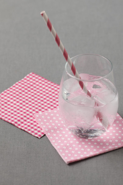 light pink Polka-Dot Cocktail Napkins (20) | BHLDN