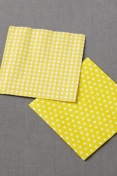 yellow Polka-Dot Cocktail Napkins (20) | BHLDN