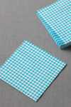 Gingham Cocktail Napkins (20)