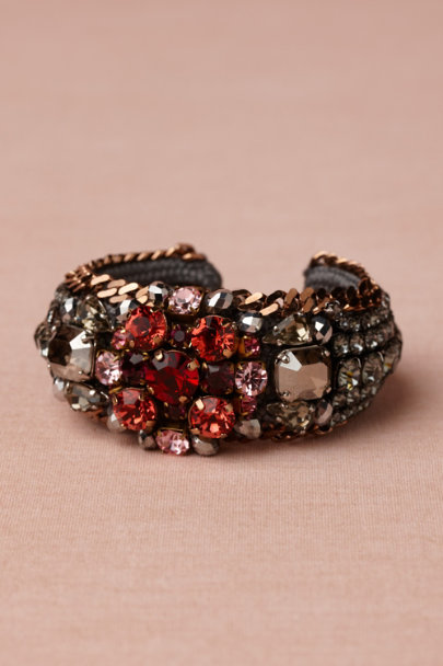 blue motif Night Fire Bracelet | BHLDN