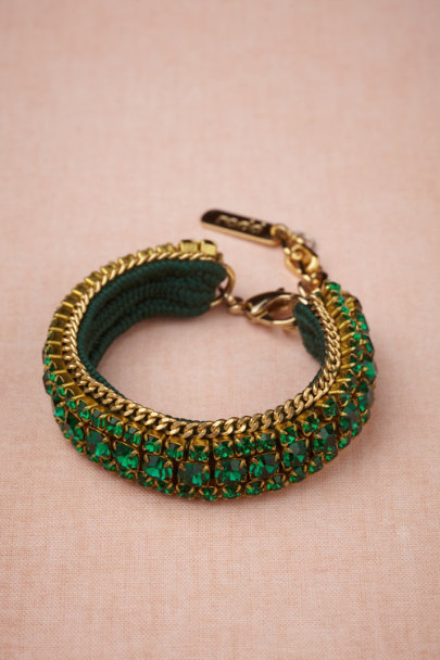 Radà green Serpentine Bracelet | BHLDN
