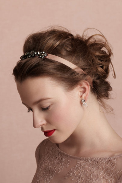 grey Cassis Headband | BHLDN