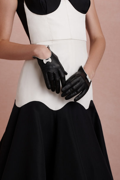 black Roman Nights Gloves | BHLDN
