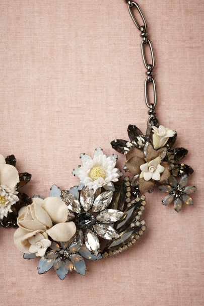 neutral motif Cultivar Necklace | BHLDN