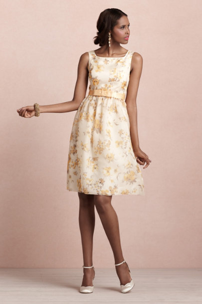 Golden Poppies Dress
