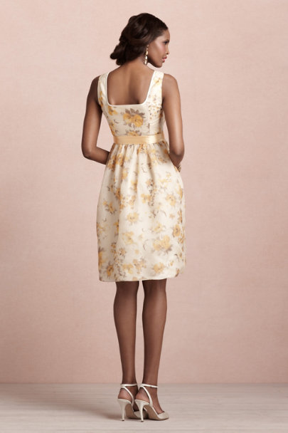 poppy print Golden Poppies Dress | BHLDN