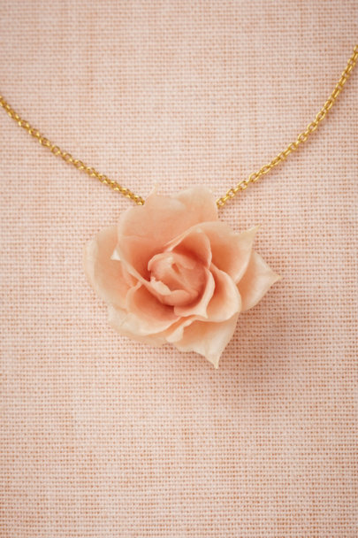 Salet pink/rose Hallowed Beauty Necklace | BHLDN