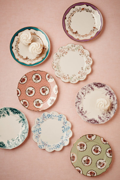 assorted Petits Four Plates (8) | BHLDN