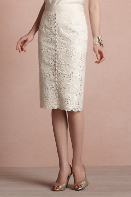English Embroidery Skirt