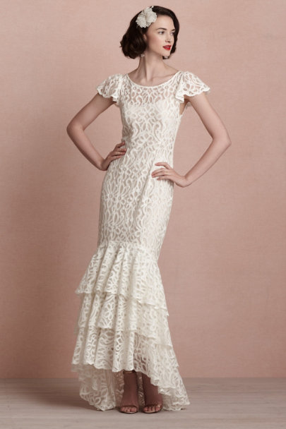 ivory Flamenca Gown | BHLDN