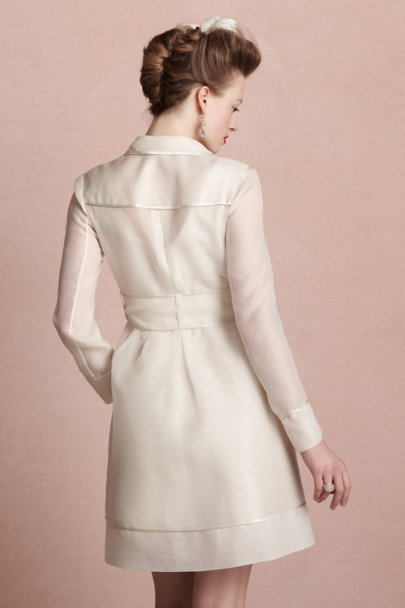 parchment Jetsetter Coat | BHLDN
