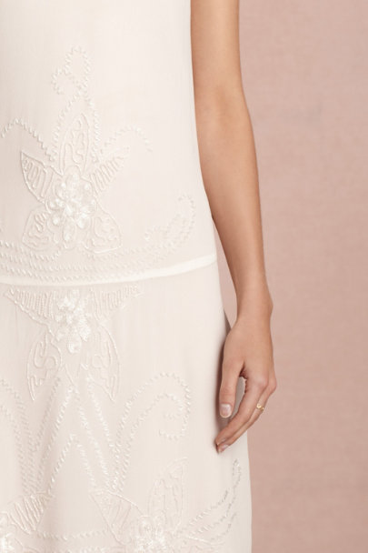 ivory Garçonne Dress | BHLDN