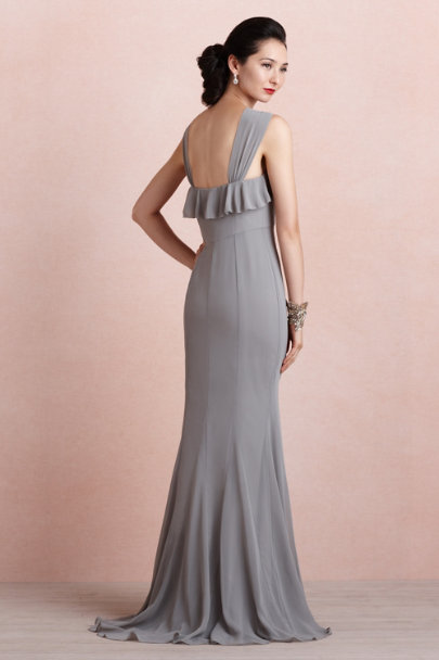 glacier grey Wind Wave Dress | BHLDN