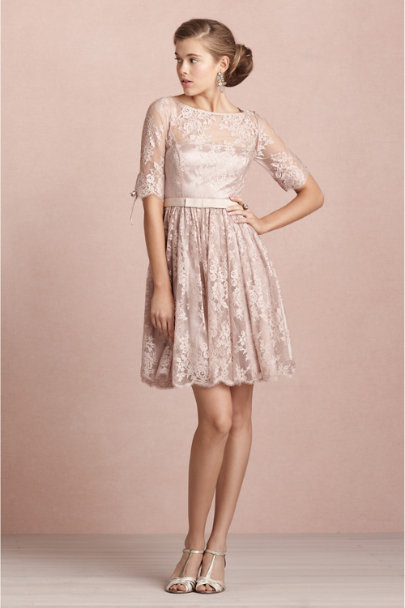 blush Tea Rose Dress | BHLDN
