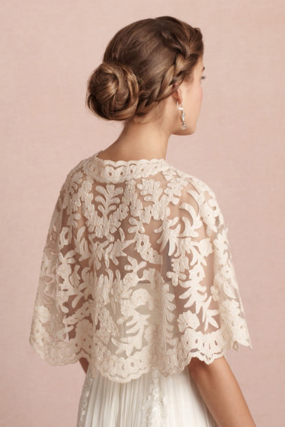 evening sand Boulevardier Capelet | BHLDN