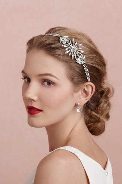 Erickson Beamon silver Gatsby Halo | BHLDN