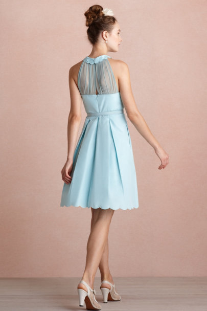 soft blue Horizon Dress | BHLDN