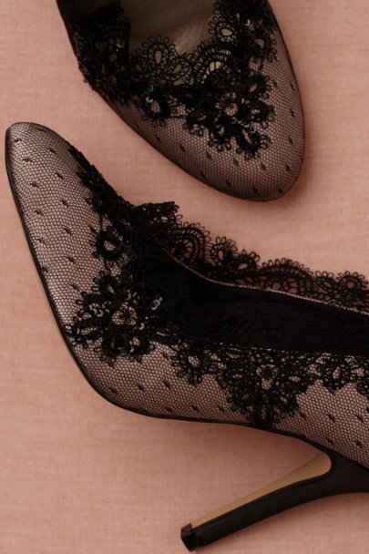 black Duchesse Heels | BHLDN
