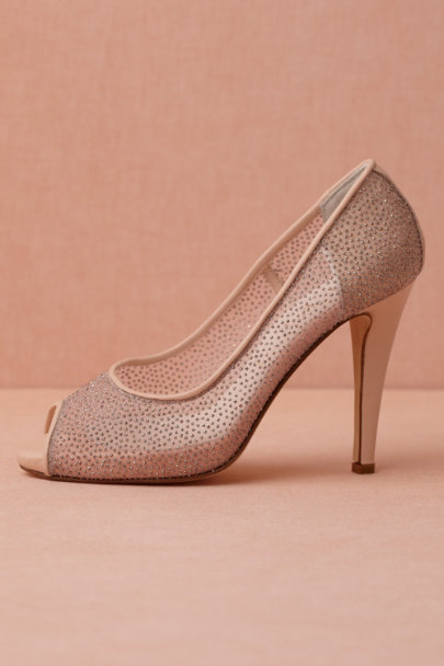 nude Sterling Peep-Toes | BHLDN