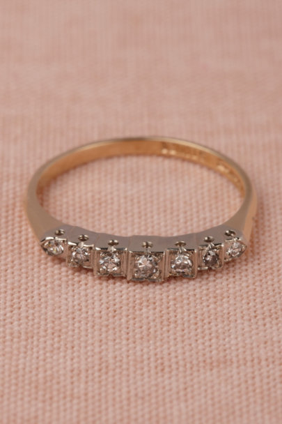 gold Escalier Ring | BHLDN