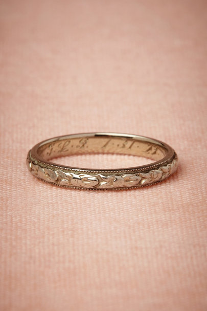 white gold Cortlandt Ring | BHLDN