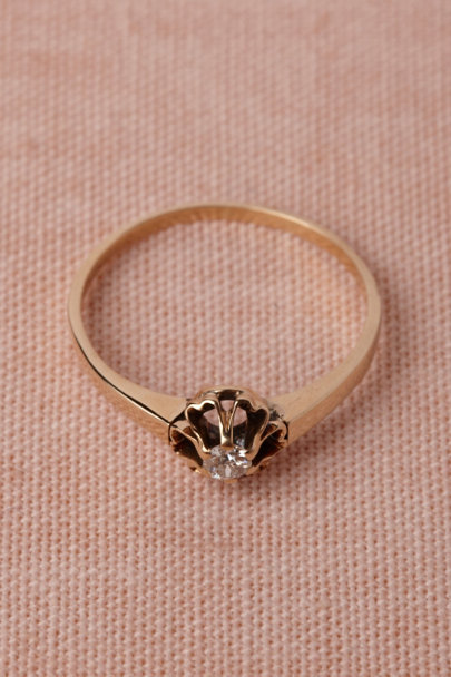 gold Honor's Oath Ring | BHLDN