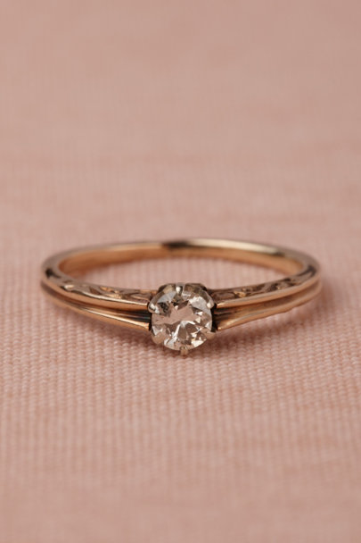 gold Basilica Ring | BHLDN