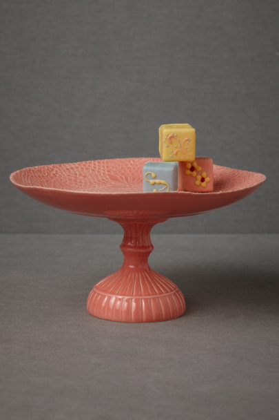 coral Coral Cake Stand | BHLDN