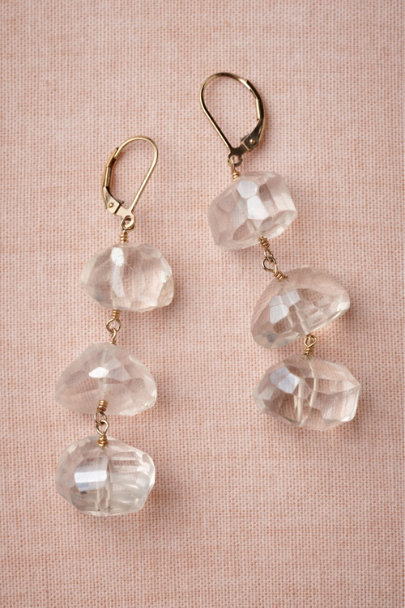 crystal Crystalline Earrings | BHLDN