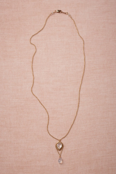 gold Imperial Guard Necklace | BHLDN