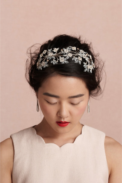 Debra Moreland crystal Sweetbriar Headpiece | BHLDN