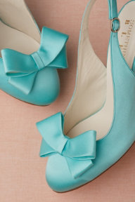 Bow-Topped Slingbacks
