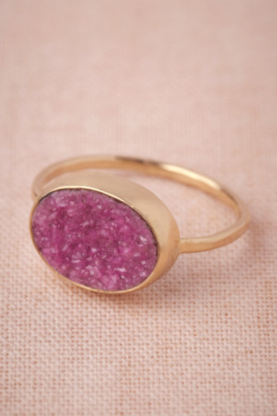 pink/rose Far-Flung Ring | BHLDN