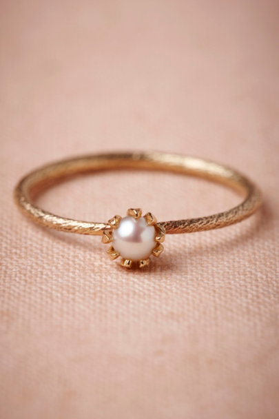 pearl Mermaid's Coronet Ring | BHLDN