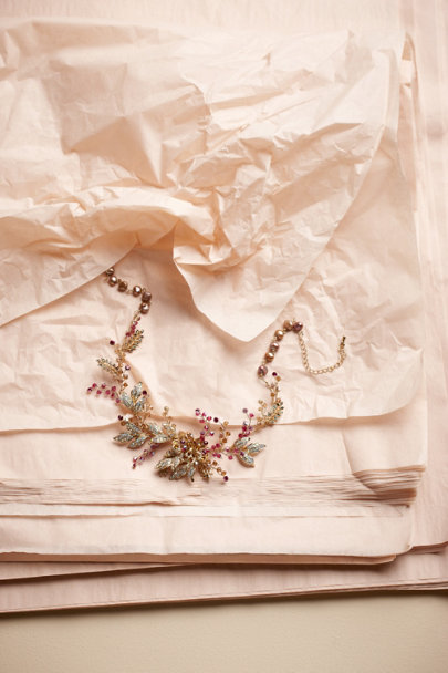 pink/rose Cool Seasons Necklace | BHLDN