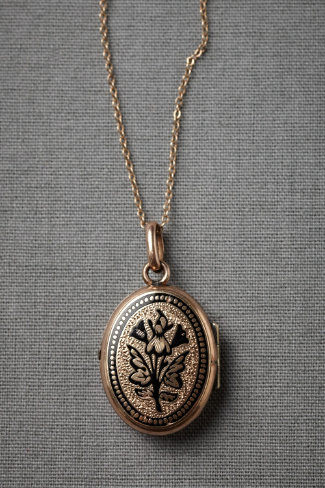 Butterfly Bud Necklace